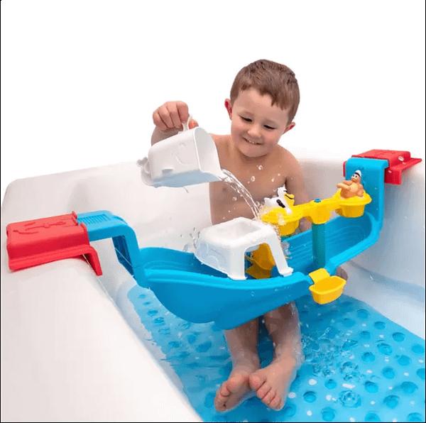 Nautical Rain Showers Bath Set